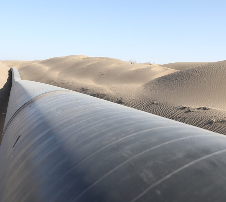 خط لوله ۵۶ اینچ ایرانشهر چابهار (PC)